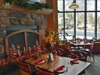 Dancing Bears Restaurant - Fireplace Seating
